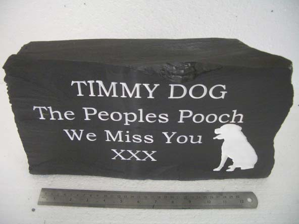 free standing grave marker for dogs