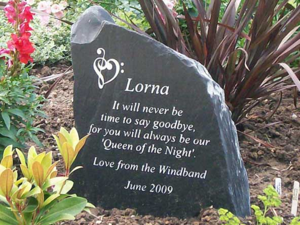 Sympathy Stones For The Garden Garden memorial stones for peoples ashes and graves uk garden memorial stone workwithnaturefo