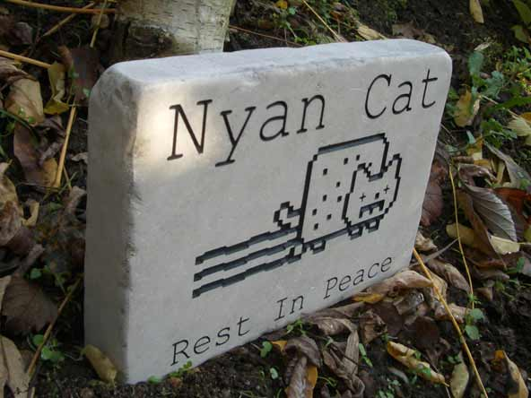 Modern Nyan Cat Rest in Peace Gift