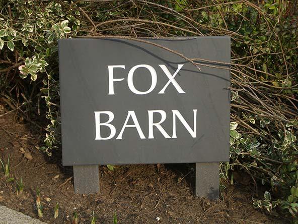 93882896ac9 Stone House Signs in a Range of Styles and Quality Materials