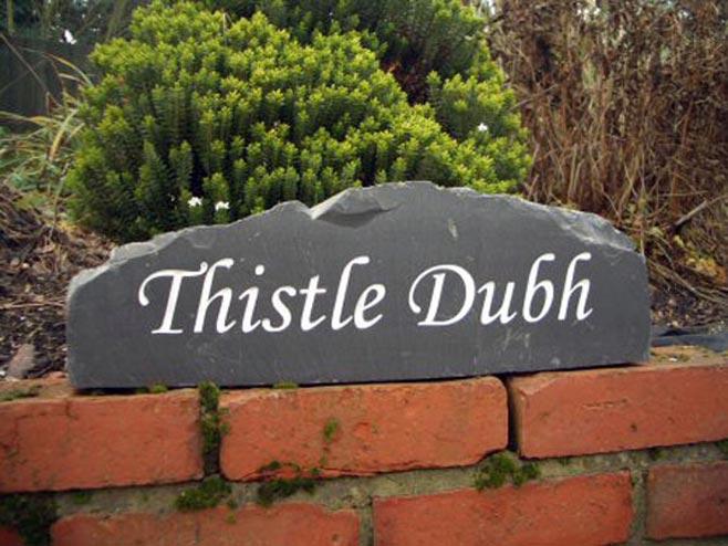 rock house signage