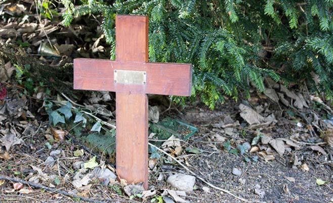 Wooden Cross Memorial