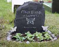 headstone for elliot forever loved