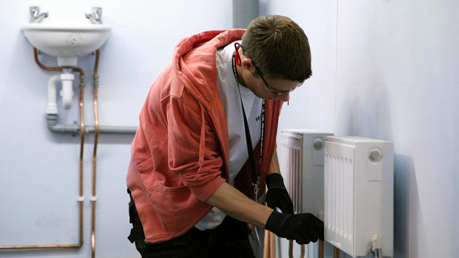 worldskills plumbing competition