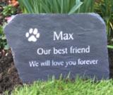 extra large dog memorial for golden retriever max