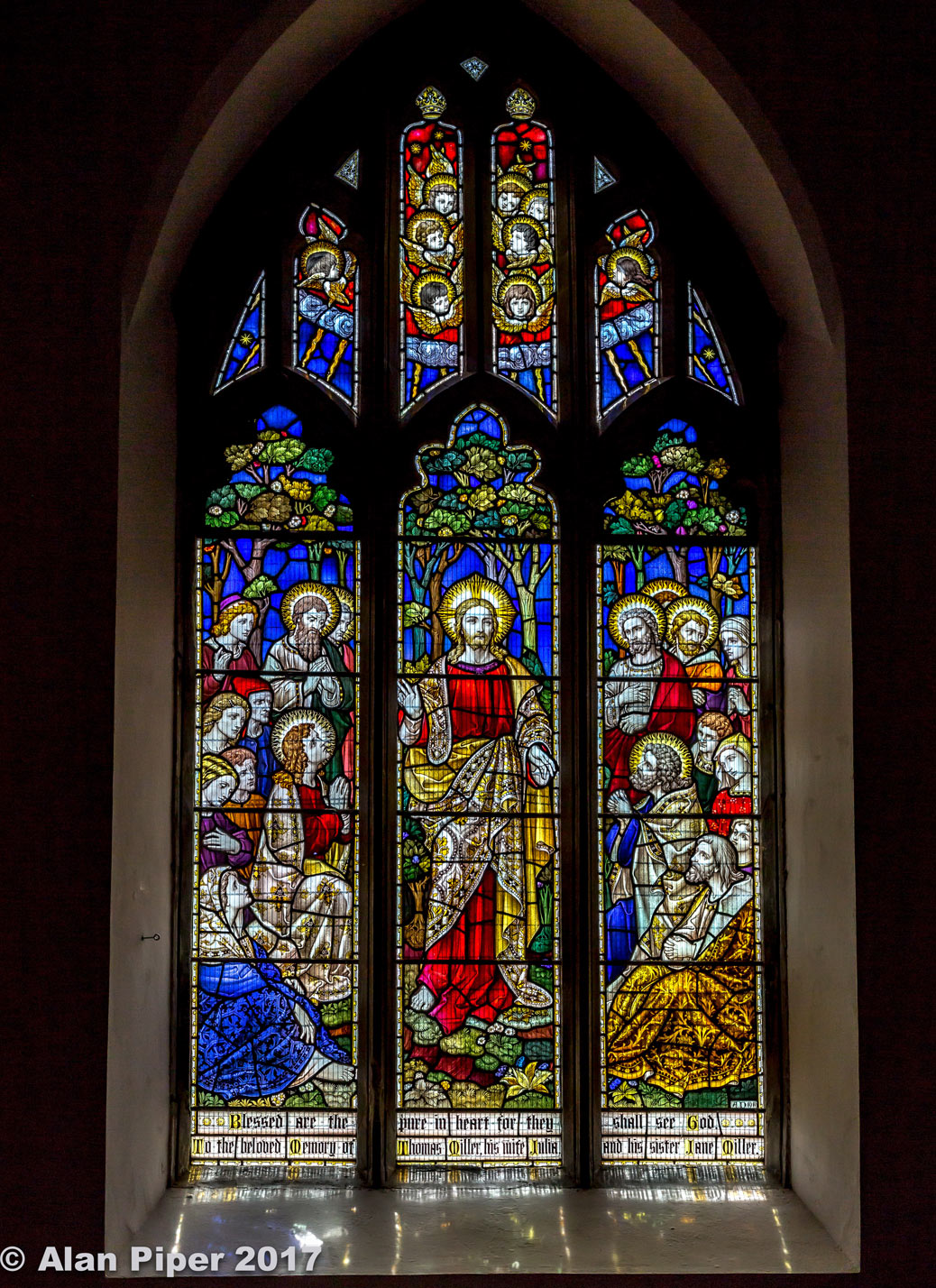 stained window glass by pappier