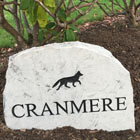 cranmere marble house sign thumbnail