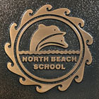 house sign made from brass metal for north beach road thumbnail