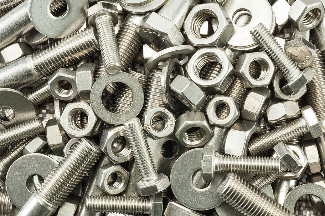bolts screws washers and nuts