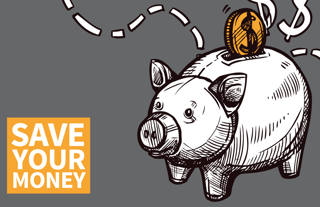 save your money piggy bank