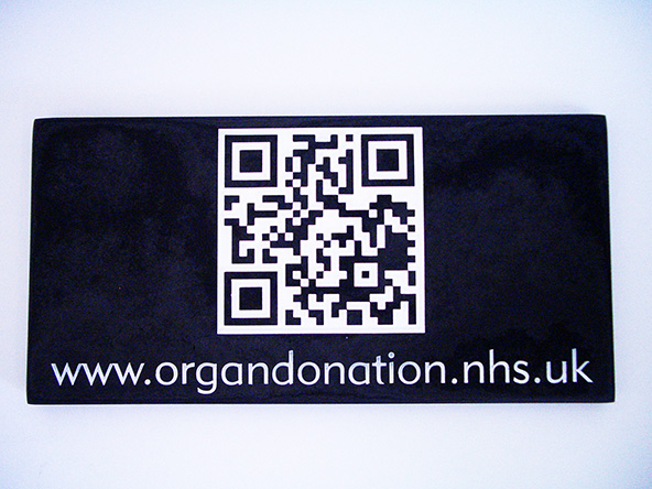 modern qrcode for organ donation nhs uk