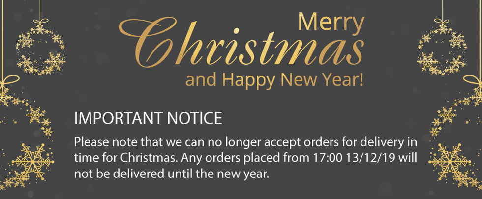 Christmas Notice Small